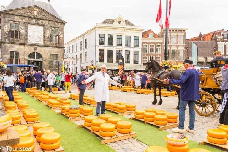 Ruta del queso por los Países Bajos: Gouda, Edam y Alkmaar