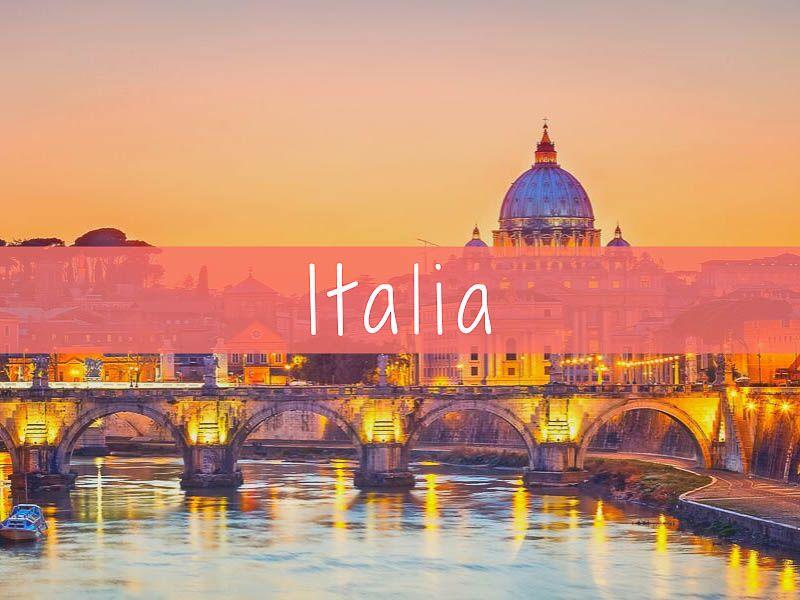 Italia, destinos europeos