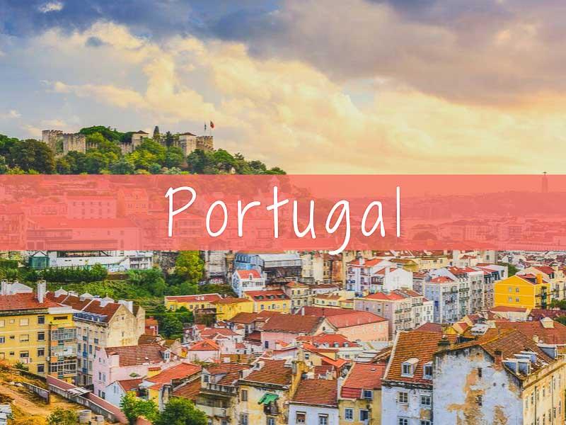 Portugal, viajar en Europa