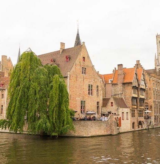 Bruges Rosary Pier, Belgium