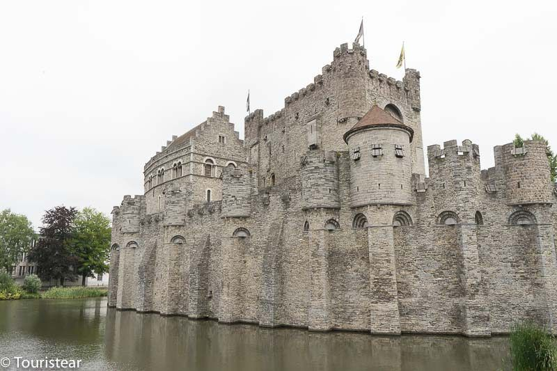 Castle of the Counts of Flanders, Ghent, Belgium