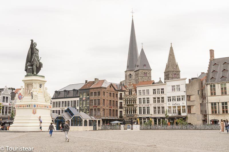 Vrijdagmarkt, Gand, Gent, Bélgica