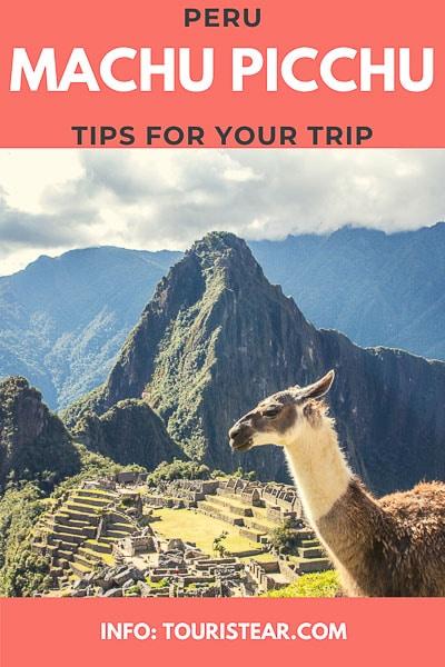 Machu Picchu, travel advices, travel tips, Peru