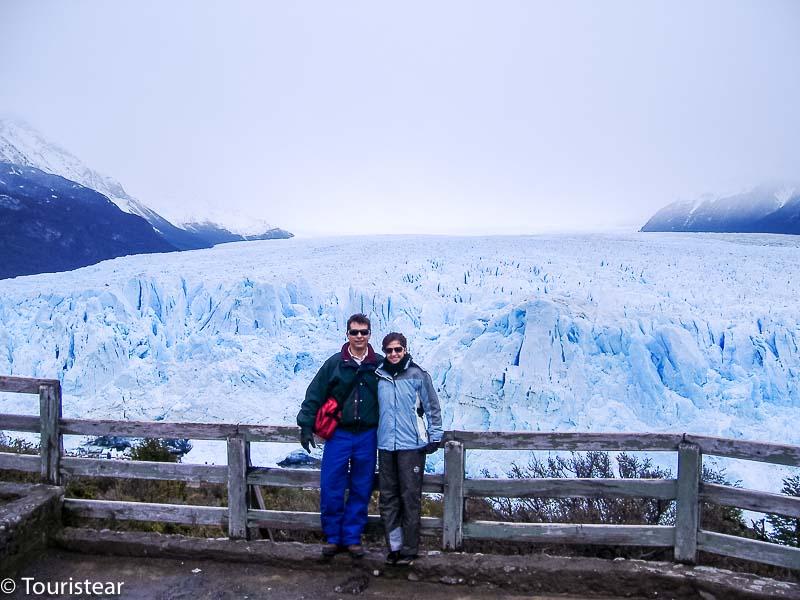 Fer y Vero, Perito Moreno Glacier, Argentina