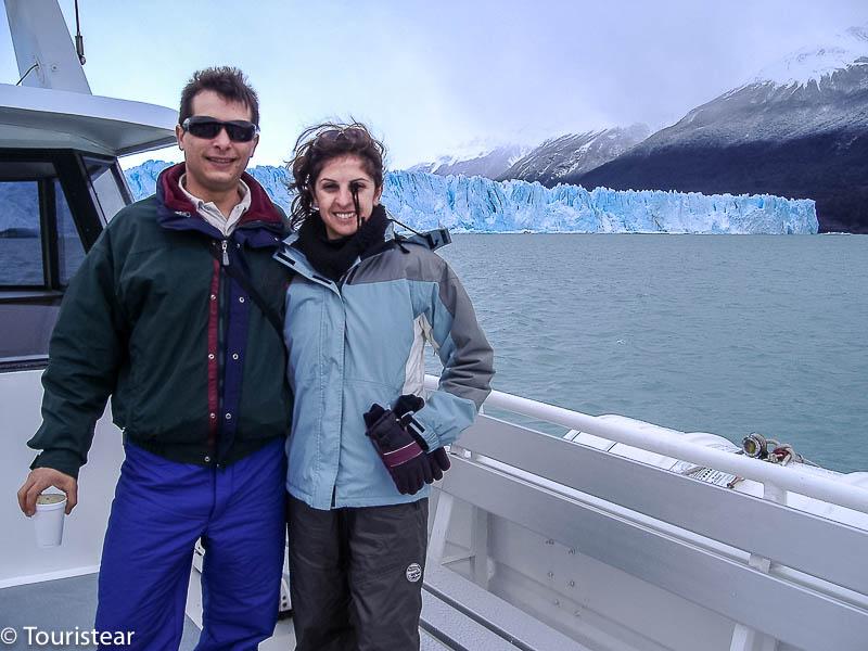 Fer y Vero, Glaciar Perito Moreno, Argentina