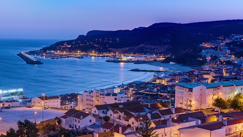 Sesimbra Coast, Southern Portugal