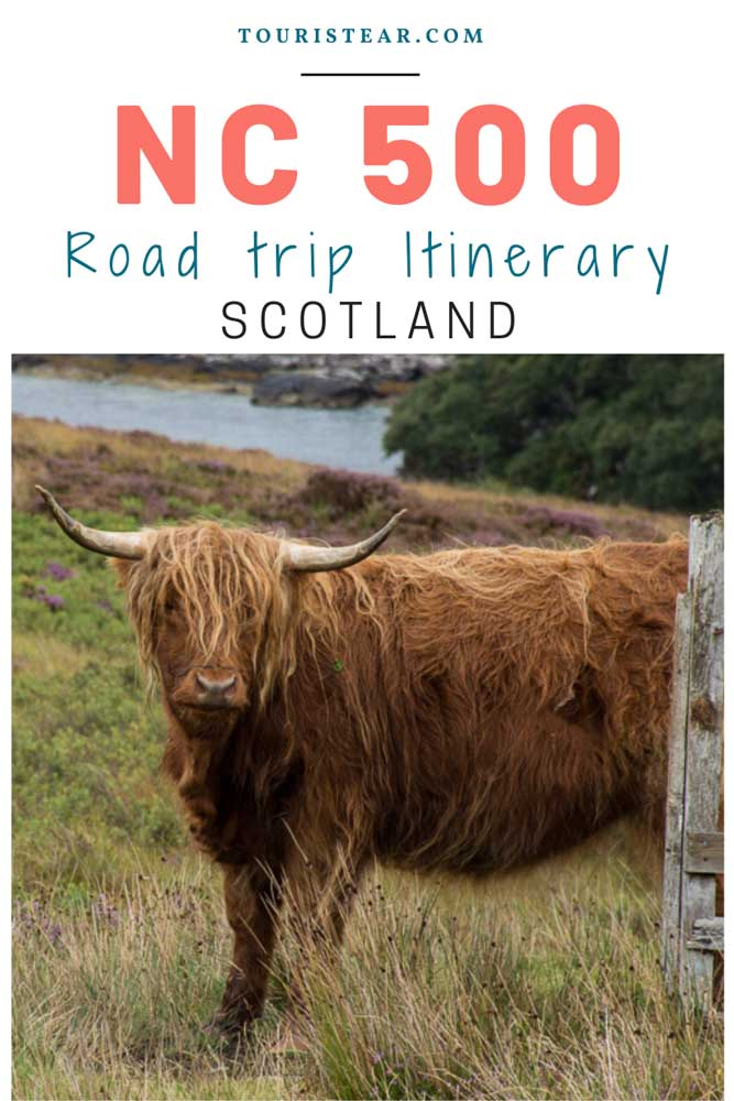 North coast 500 Scotland, road trip itinerary