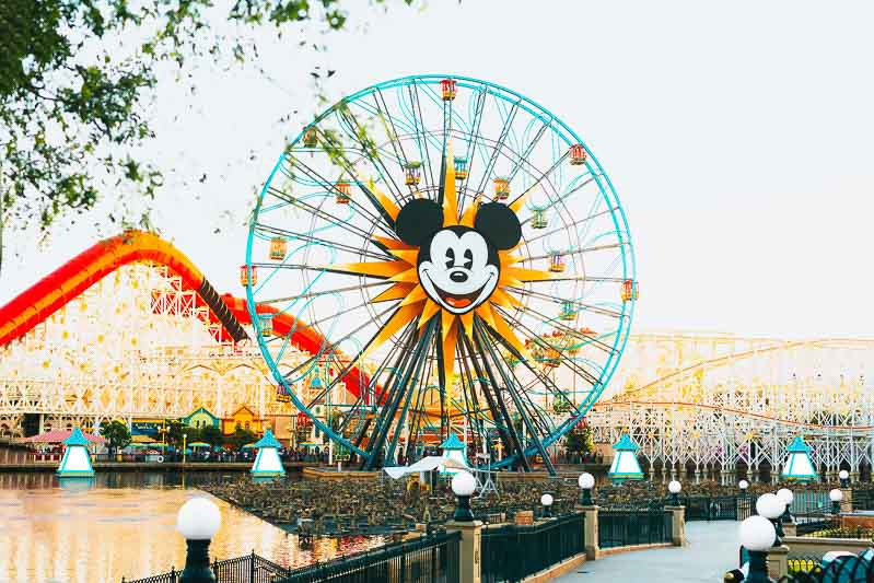 Disney California in Anaheim
