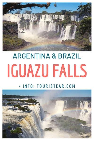 Iguazu falls, Argentina and Brazil