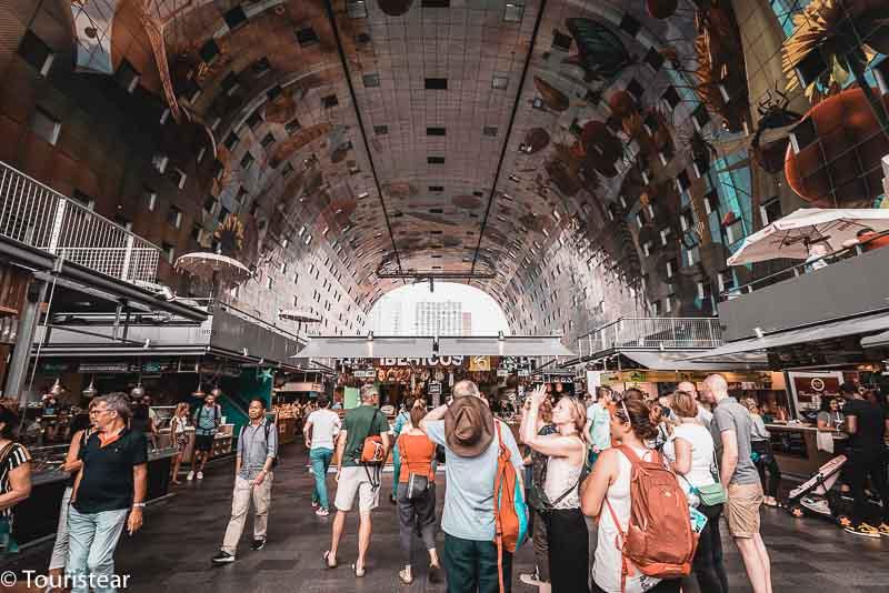 Rotterdam's Markthal Interior