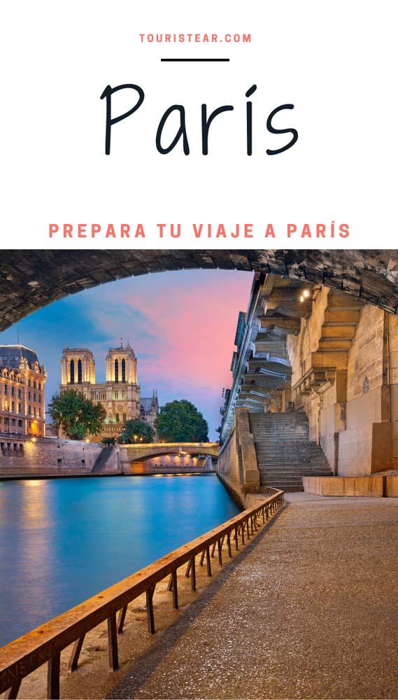 Como organizar viaje a París
