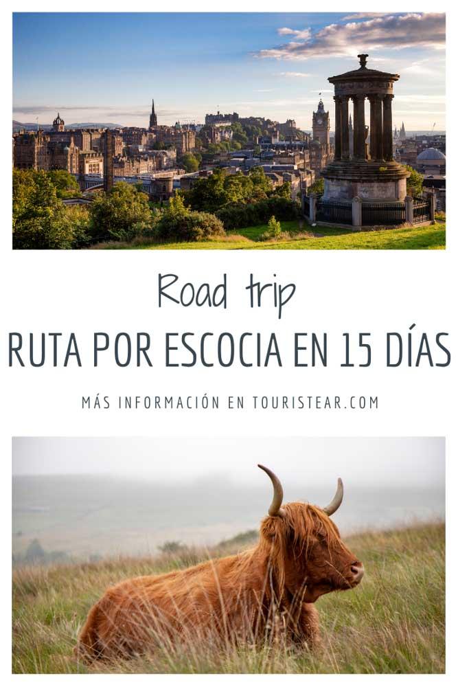 Ruta en coche por Escocia en 15 días