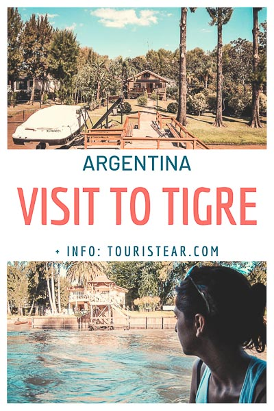 Visit to Tigre from Capital federal, Buenos Aires, Argentina