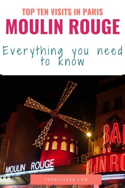 How to see a show in Moulin Rouge Paris?