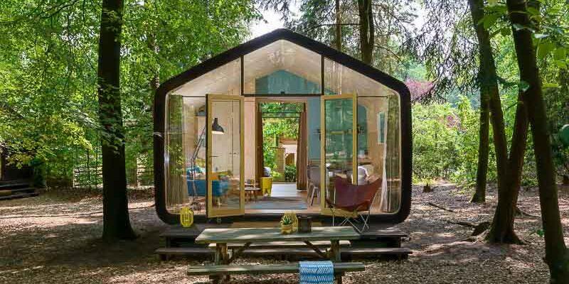 Alojamientos sostenibles en la naturaleza