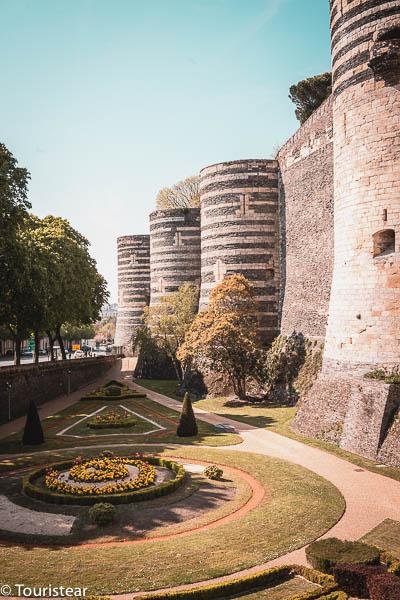 Castillo de Angers, Francia