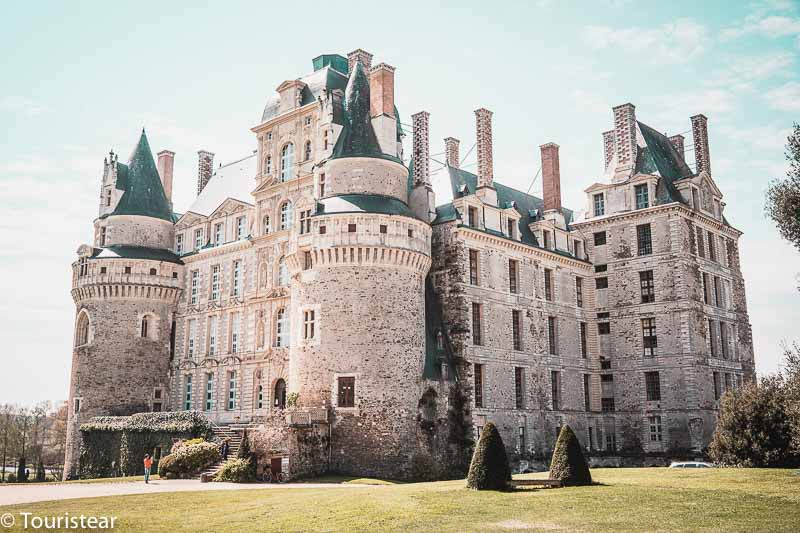 Brissac, Castillos del Loira, Francia