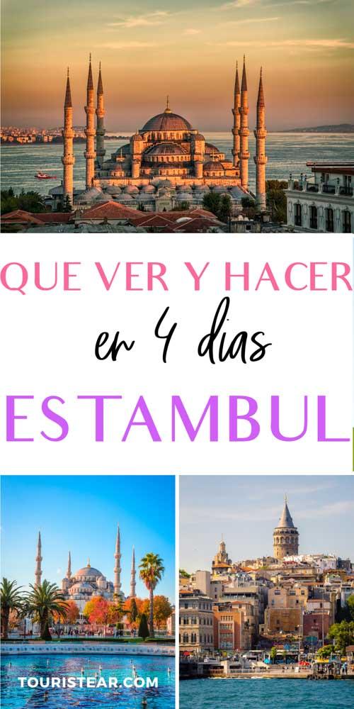 que ver en Estambul en 4 dias