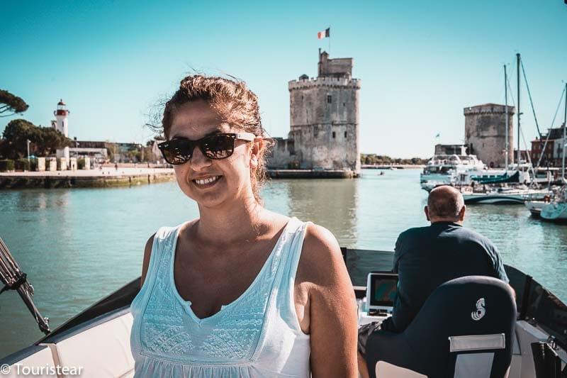 La Rochelle en barco, Vero