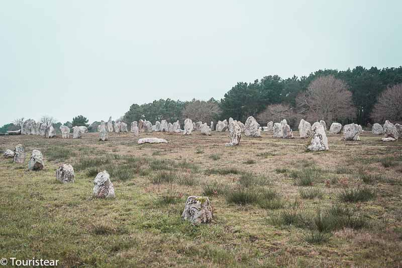 Carnac and its menhirs, France