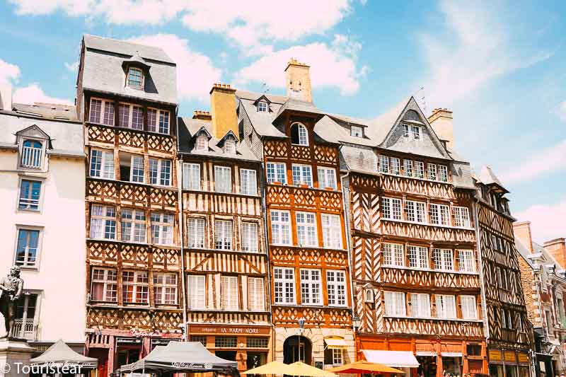 Rennes, capital of Brittany, France