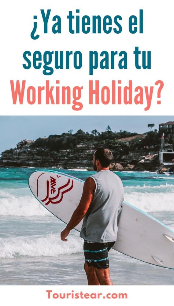 seguro de viaje working holiday