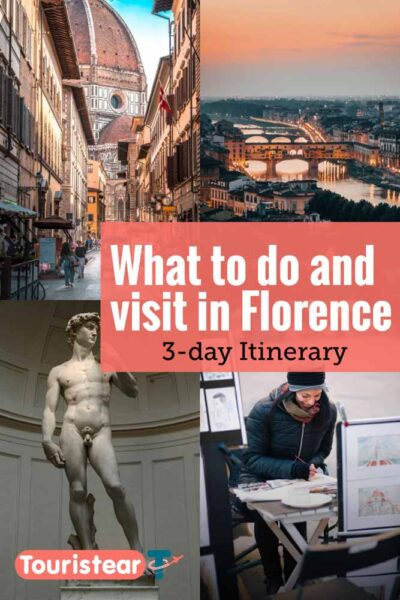 Florence 3 day itinerary