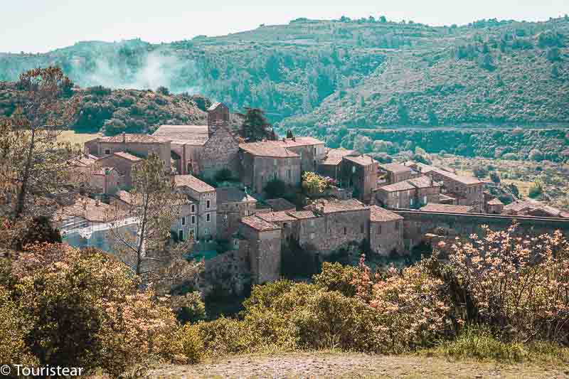 Minerve, villages in the south of France