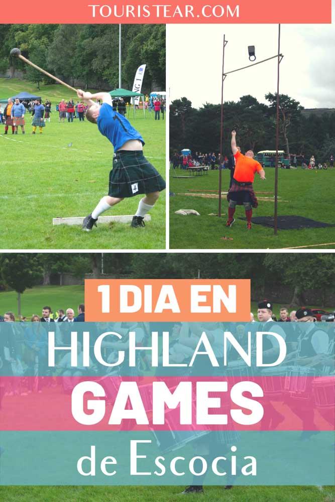 1 día en los juegos de las Highlands, Escocia