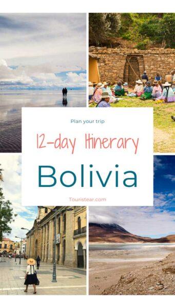 12 day itinerary Bolivia