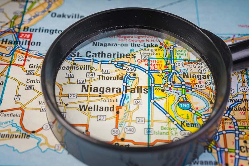 cruzar de Estados Unidos a Canadá en coche de alquiler