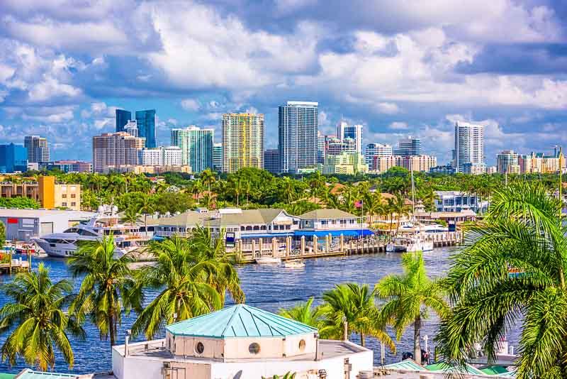 alquilar un auto en Fort Lauderdale