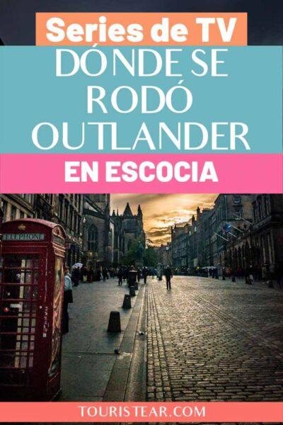Lugares donde se rodó la serie outlander en Escocia