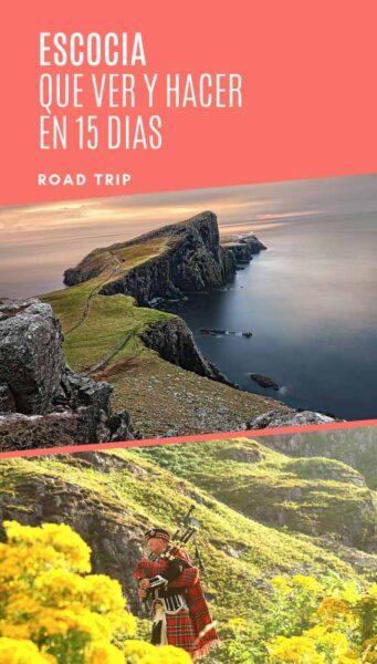 ruta 15 días por Escocia