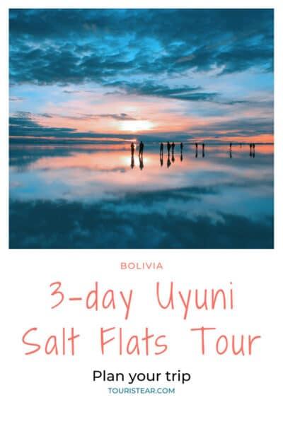 Salar de Uyuni mirror, Bolivia