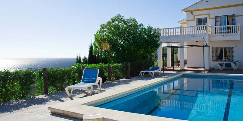 cottages on Costa del Sol, Malaga, Spain