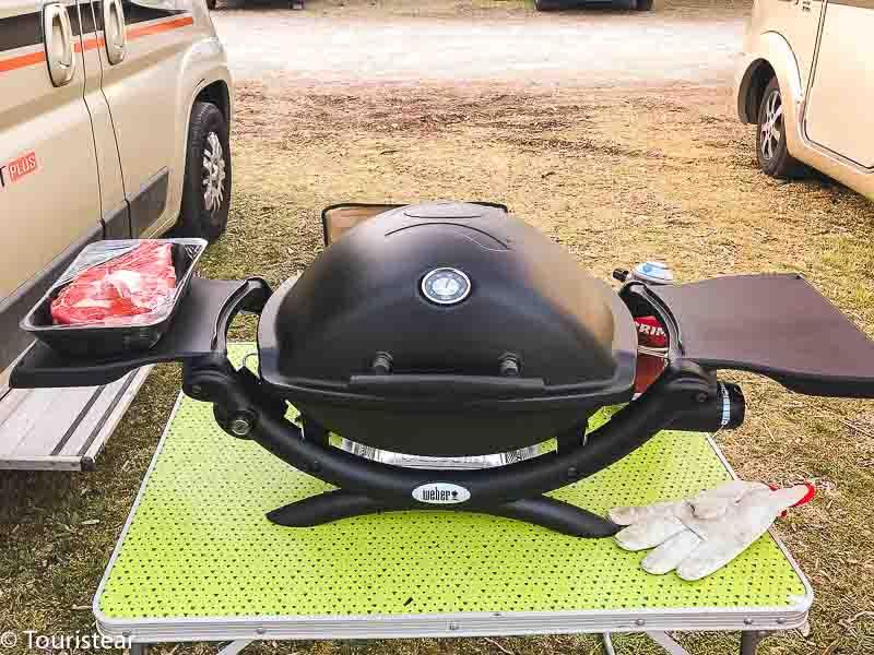 barbacoa a gas portátil Weber Q1200