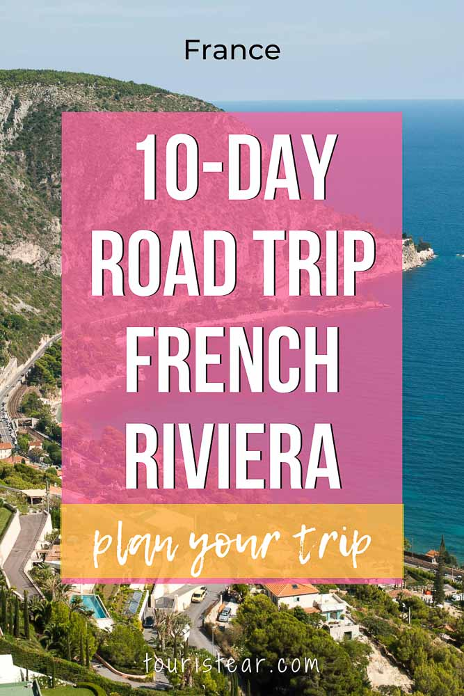 10 days road trip french riviera france
