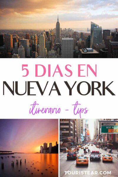 que ver en Nueva York en 5 dias