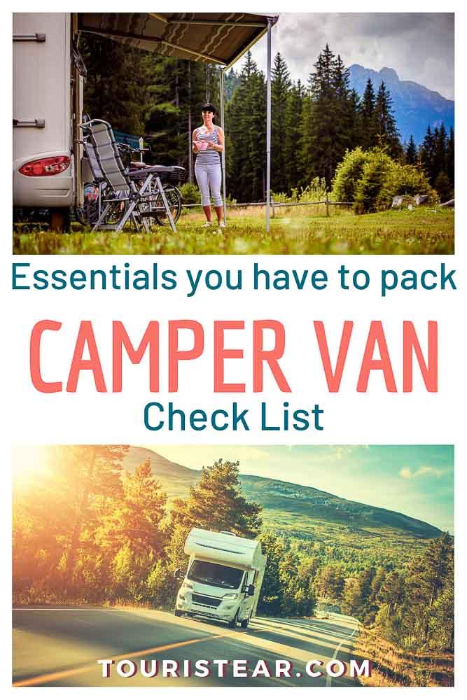Camper van Essentials