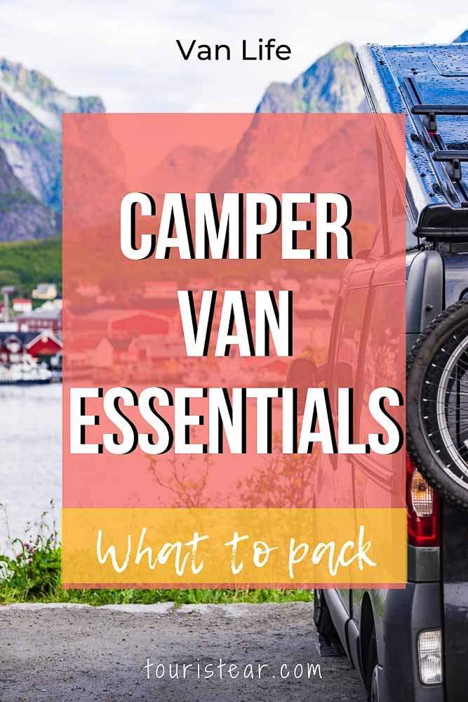 What to pack when you travel by van