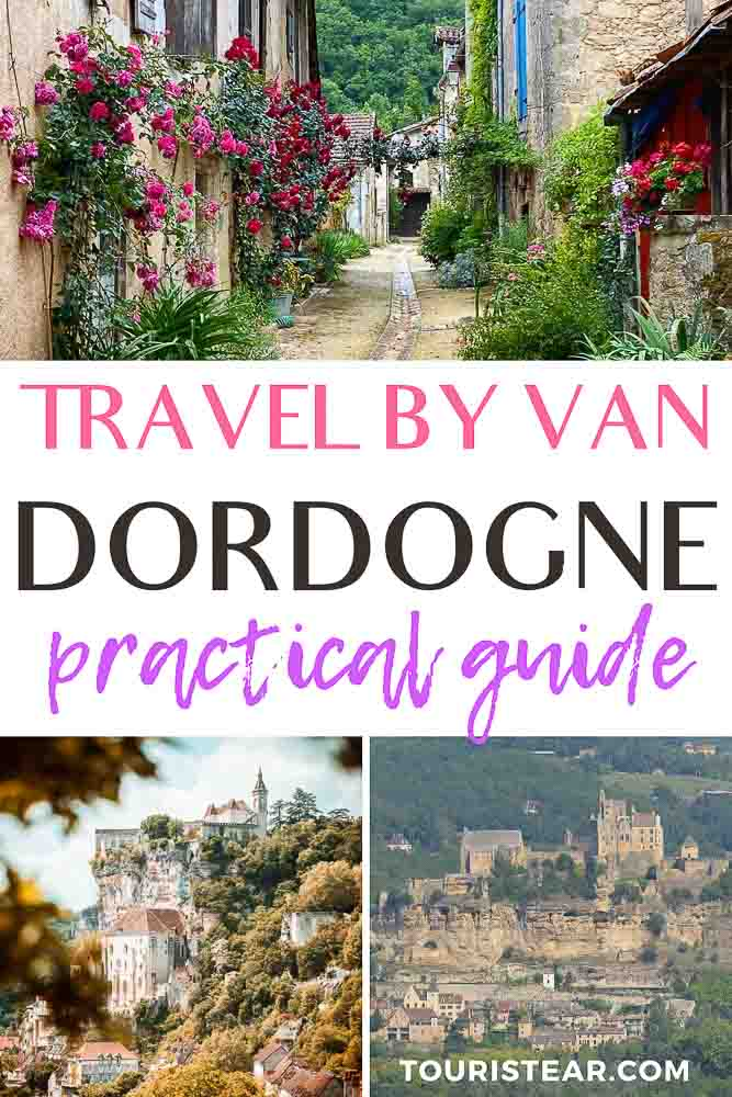 Travel by van Dordogne Perigord France
