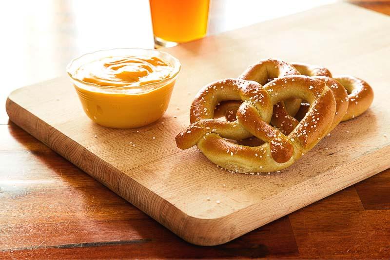 pretzels para llevar de viaje