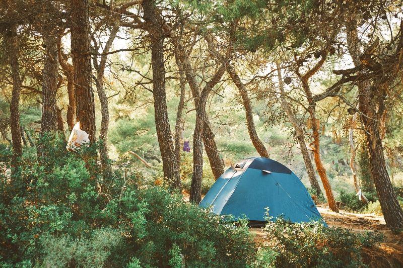 Tienda de campaña para ir de camping