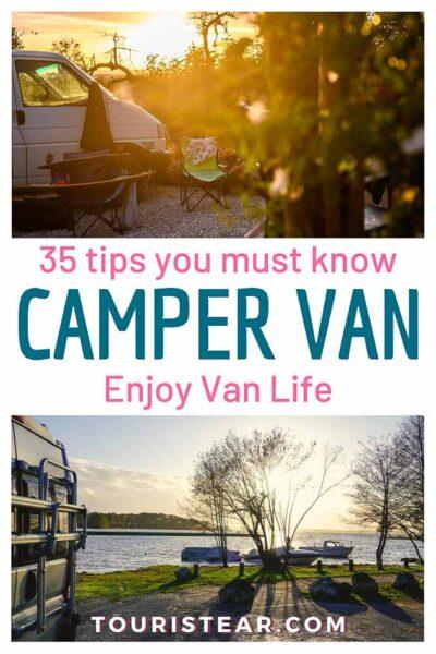 Tips you must know travel camper van