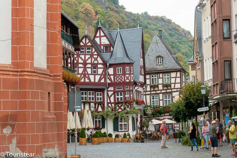 Bacharach route through the Mosel, Germany