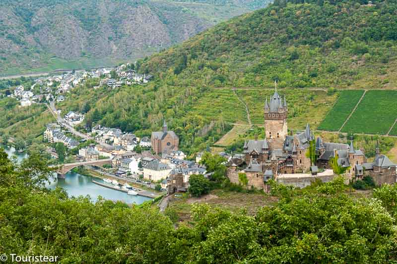 Cochem, road trip through germany's moselle