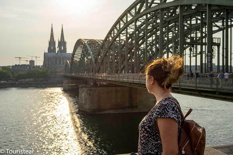 Cologne Bridge and Cathedral