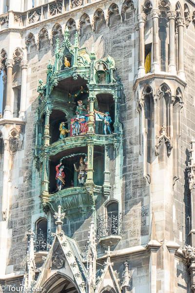 Rathaus-Glockenspiel at Marienplatz