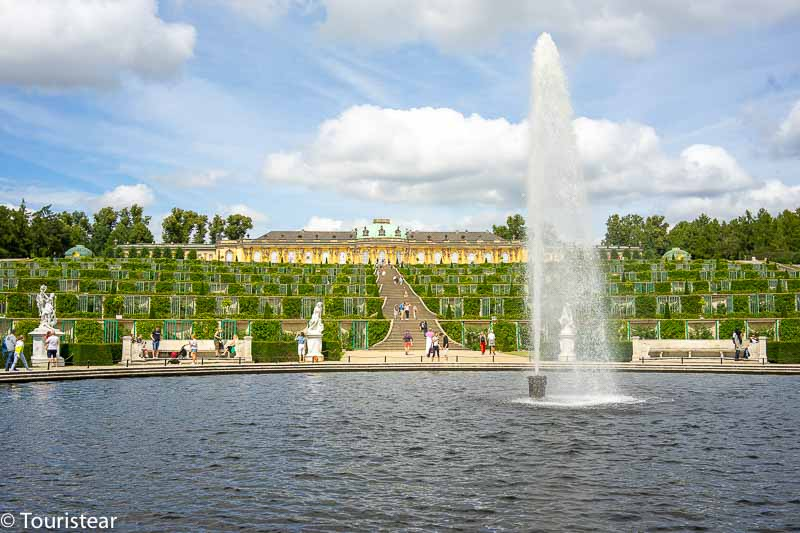 Sanssouci Palace and Gardens in Potsdam, Germany